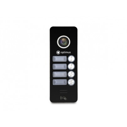 AHD вызывная панель Optimus DSH-1080/4 к видеодомофону, 1080Р