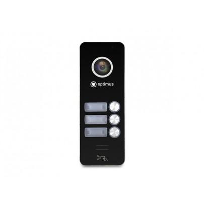 AHD вызывная панель Optimus DSH-1080/3 к видеодомофону, 1080Р