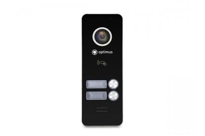 AHD вызывная панель Optimus DSH-1080/2 к видеодомофону, 1080Р