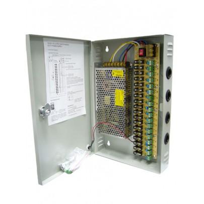 Блок питания VD-912 на 18 камер видеонаблюдения