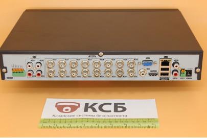 Видеорегистратор гибридный 5 в 1, AHD EVD-6216NLSX-1  16 каналов 1080N*12к/с, 2HDD