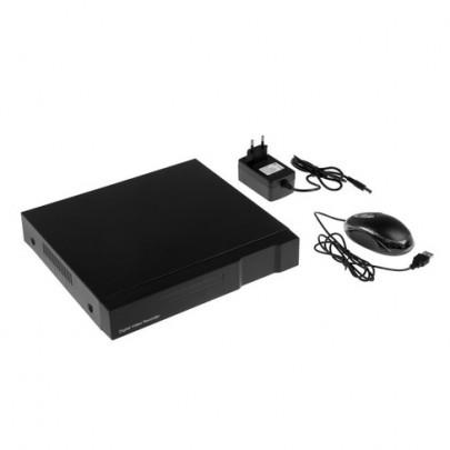 Видеорегистратор гибридный 5 в 1, AHD  EL RA-341, 4 канала 1080N*23к/с, 1HDD