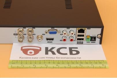 Видеорегистратор гибридный 5 в 1, AHD EVD-6104GLR-1  4 канала, 4Мп*8к/с, 1HDD