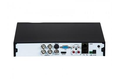 Видеорегистратор гибридный 5 в 1 Optimus AHDR-2004HL_H.265, 4 канала 5Мп*60к/с, 1HDD