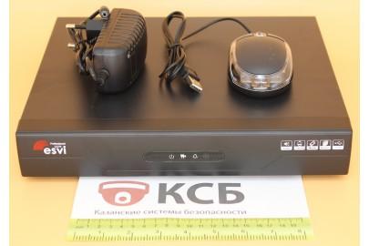 Видеорегистратор гибридный 5 в 1, AHD EVD-6108NLX-7  8 каналов 1080N*12к/с, 1HDD