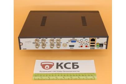 Видеорегистратор гибридный 5 в 1, AHD EVD-6108HN-2  8 каналов 1080N*12к/с, 1HDD