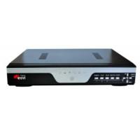 Видеорегистратор гибридный 5 в 1, AHD EVD-6208HLSX-1  8 каналов 1080P*12к/с, 2HDD
