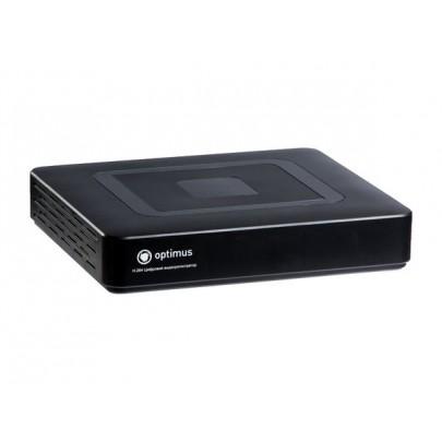 Видеорегистратор гибридный 5 в 1 Optimus AHDR-2004HLE, 4 канала 1080P*100к/с, 1HDD