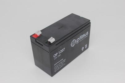 Аккумуляторная батарея OP 12-7  12В, 7 А*ч
