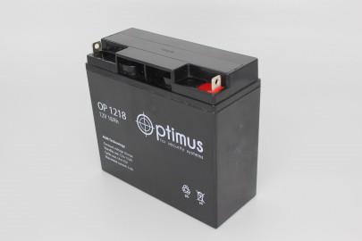 Аккумуляторная батарея OP 12-18 12В, 18А*ч