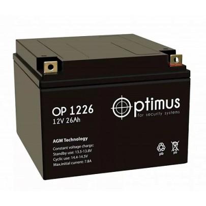 Аккумуляторная батарея OP 12-26 12В, 26А*ч