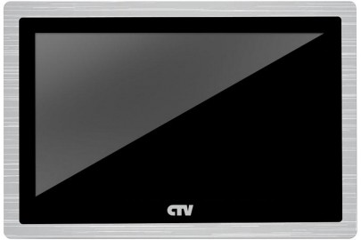 """Видеодомофон цветной CTV-M4104AHD 10"""" с сенсорным управлением Touch Screen, IPS дисплей, Full HD, microSD"""