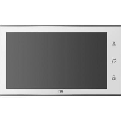 """Видеодомофон цветной CTV-M4105AHD 10"""" с сенсорным управлением """"Easy Buttons"""", IPS дисплей, Full HD, microSD"""