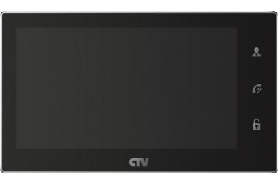 Видеодомофон цветной CTV-M4706AHD на две вызывные панели, сенсорным управлением Touch Screen, Full HD, microSD