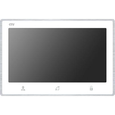 Видеодомофон цветной CTV-M4703AHD на две вызывные панели, сенсорным управлением, Full HD, microSD