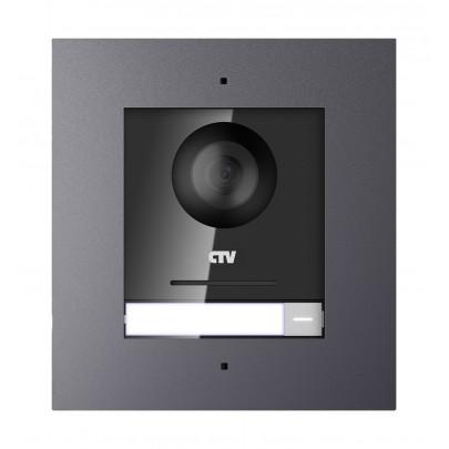 CTV-IP-UCAMF Цветная вызывная IP-панель для видеодомофонов (Врезная)