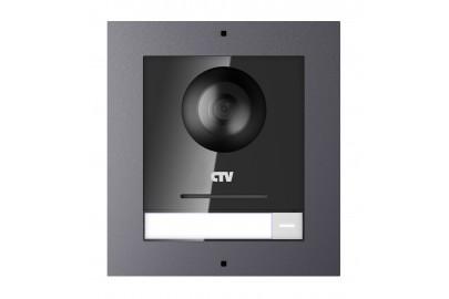 CTV-IP-UCAMS Цветная вызывная IP-панель для видеодомофонов (Накладная)