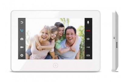 """Видеодомофон цветной JVS GRANT HD WiFi 10"""" (черный/белый) с сенсорным управлением Easy buttons, встроенный модуль Wi-Fi"""