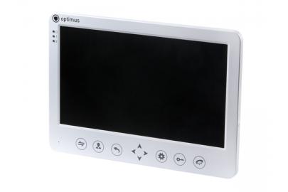 """Видеодомофон цветной Optimus VM-7.1 на две вызывные панели, 4-x проводной 7"""", TFT LCD"""