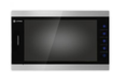 """Видеодомофон цветной Optimus VMH-7.1 TFT LCD на две вызывные панели, 4-x проводной 7"""", слот microSD"""