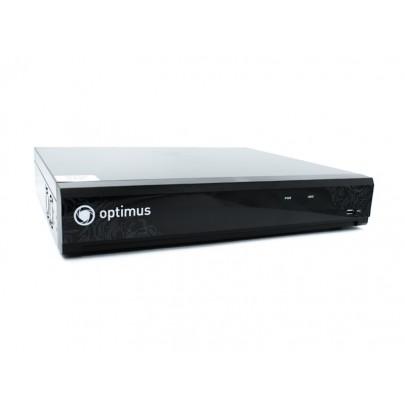 Видеорегистратор IP Optimus NVR-8644 64 потока 8Мп , 4HDD