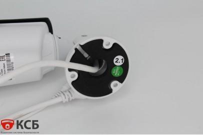 Уличная цилиндрическая IP видеокамера EL IB2.1(2.8-12)_H.265  2.0 Mpx, f=2.8-12мм, аудио вход