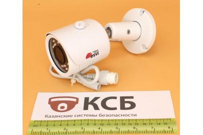 Уличная цилиндрическая IP видеокамера  EVC-BH30-F21 (BV) 2.0 Mpx, f=3.6мм