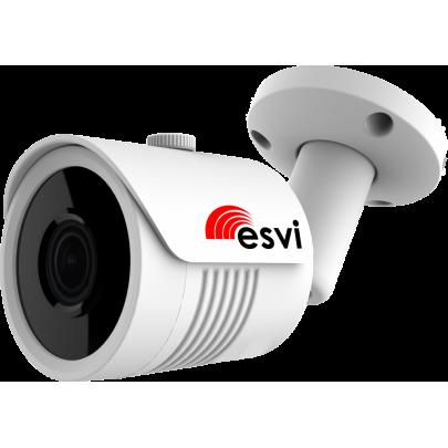 Уличная цилиндрическая IP видеокамера  EVC-BH30-F22-P (BV) 2.0 Mpx, f=3.6мм, POE