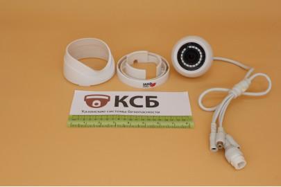Внутренняя купольная IP видеокамера IPC-D2.0, 2 Mpx, f=3.6мм