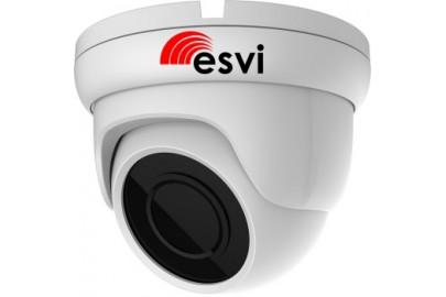 Купольная AHD видеокамера  EVL-DP-H22F 4 в 1, 2Мп 1080p,  f=2.8мм