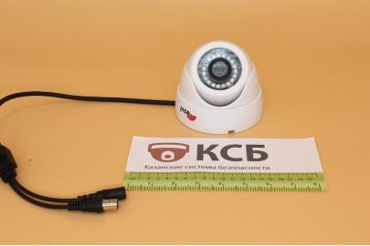 Купольная  видеокамера EVL-DL-H11B  1 Mpx 720p, f=2.8мм