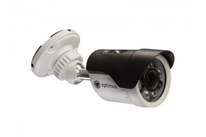 Уличная цилиндрическая AHD видеокамера Optimus AHD-H012.1(3.6)E