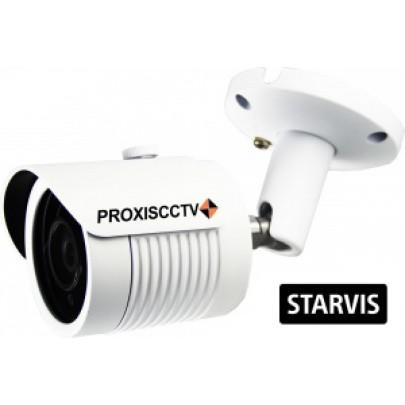 Уличная цилиндрическая AHD видеокамера PX-AHD-BH30-H50ESL 4 в 1,  5.0Мп*20к/с, f=2.8мм   Sony STARVIS