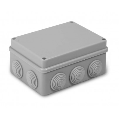Распаячная коробка с крышкой ОП 240х195х90мм, IP44,