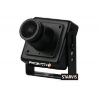 Миниатюрная AHD видеокамера PX-AHD-HE-FSL 2Mpx, 1080p, f=3.6мм